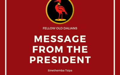 A message from the president.